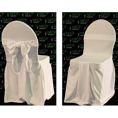 potah židle šitý s mašlí